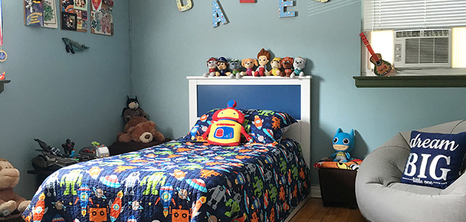 Caleb's Big Boy Room