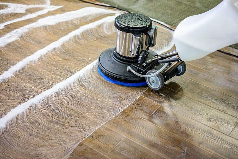 Hardwood Floor Polishing